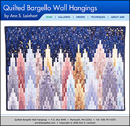 Quilted Bargello Wall Hangings.
