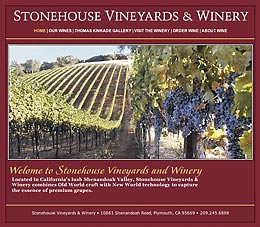 Stonehouse Vineyards & Winery.